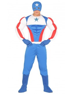 Costum adulti, Hero Super Star cu muschi