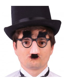 Ochelari si nas Groucho Marx