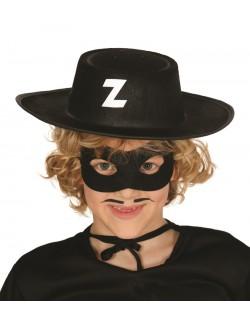 Palarie copii, Bandit Zorro