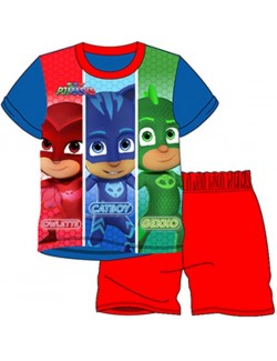 Pijama vara PJ Masks - Eroii in pijamale, copii 2-3 ani