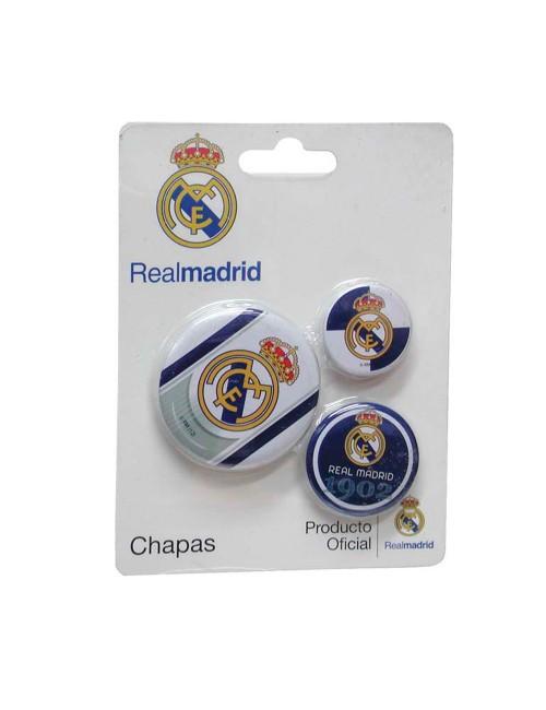 Set 3 Insigne metalice Real Madrid