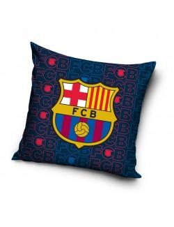 Fata de perna sigla si emblema FC Barcelona, 40 x 40 cm