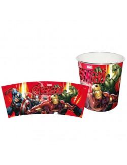 Cos de gunoi Marvel - Avengers, 22 x 21 cm