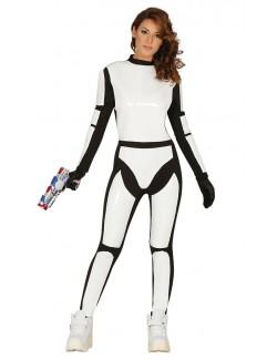 Costum carnaval femei - Soldat spatial