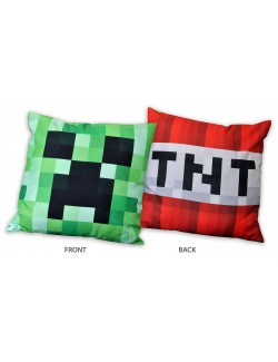 Perna decor Minecraft Creeper - TNT, 40 x 40 cm
