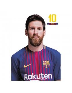 Carte postala FC Barcelona Messi, 10 x 15 cm