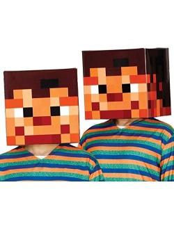 Casca pixelata pentru copii, 30 x 30 x 30 cm