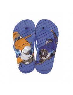 Papuci plaja copii, Disney Planes, 27-34, albastri