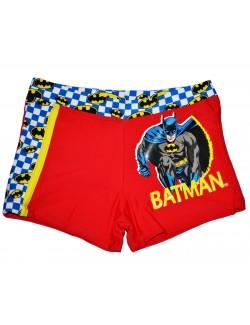 Slip baie tip boxeri copii, Batman, rosu