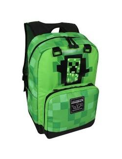 Ghiozdan Minecraft 44 x 31 x 14 cm, verde