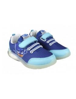 Pantofi sport cu lumini, PJ Masks - Pisoi, 24-31, Cerda