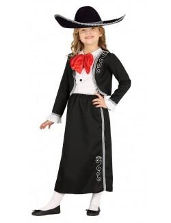 Costum Mariachi pentru fete 7 - 12 ani
