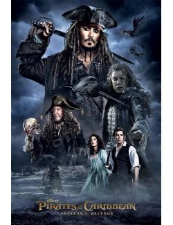Poster film Pirații din Caraibe: Răzbunarea lui Salazar (Darkness), 61 x 91 cm