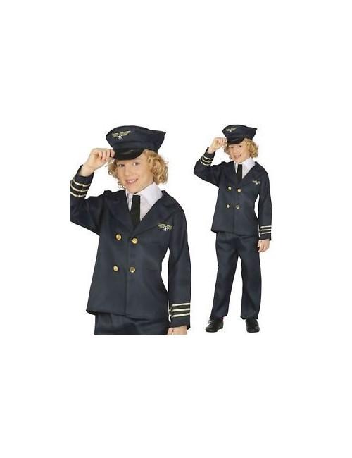 Costum Pilot pentru copii 7 - 12 ani