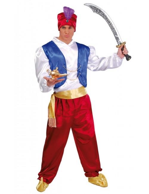 Costum Print arab / Aladin pentru adulti