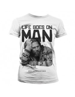 Tricou adolescente The Big Lebowski- Life goes on, man