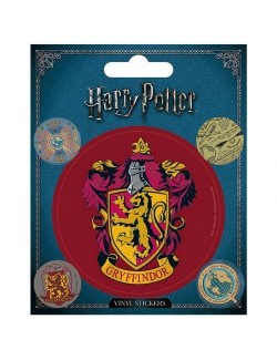 Set 5 stickere vinil, Harry Potter Gryffindor