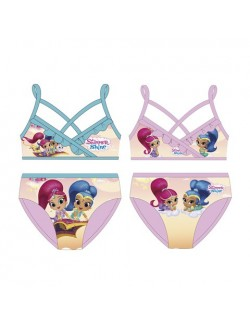 Costum baie, Shimmer si Shine, fete 2-4 ani