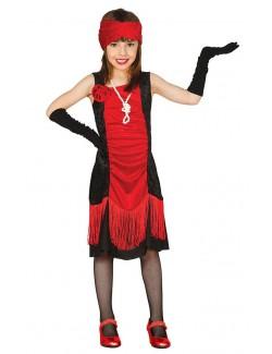 Costum retro copii Rochie Charleston, model 1