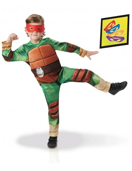 Costum Testoasele Ninja Deluxe pentru copii