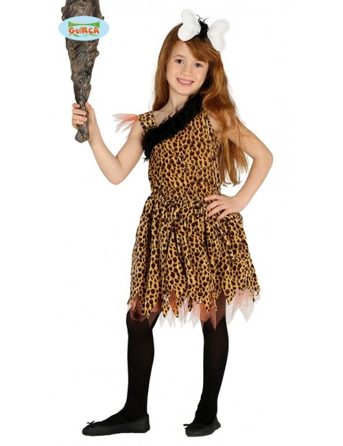 Costum Preistoric copii, Printesa Grotei, 5-12 ani