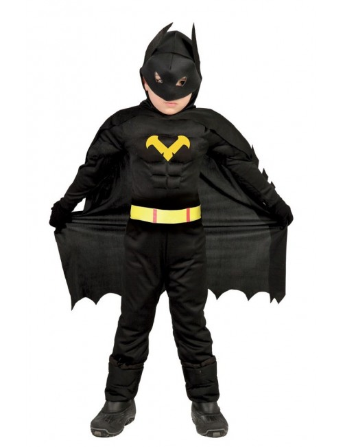 Costum copii, Black Hero, 5-12 ani