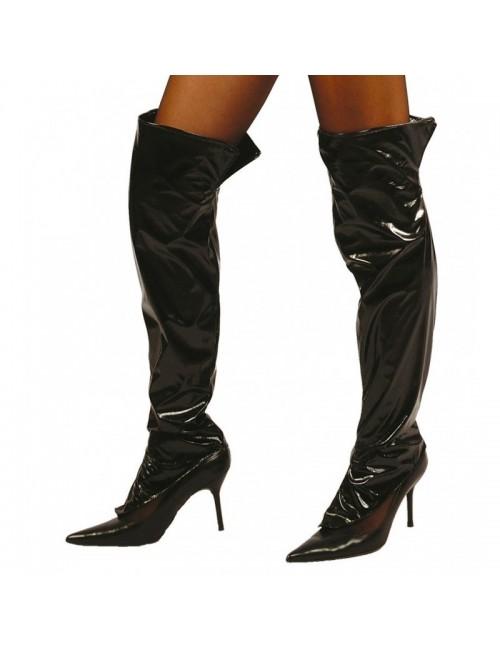 Acoperitoare incaltaminte femei, 54 cm, negre