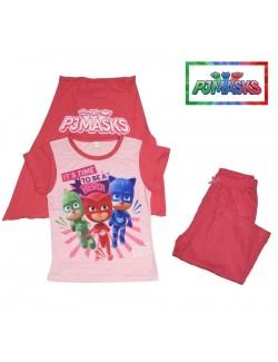 Set tricou, pantaloni 3/4 si mantie copii, PJ Masks Bufnita 2 - 6 ani
