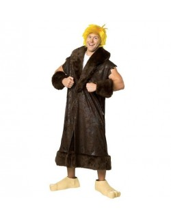 Costum adulti Barney Rubble -Familia Flinstone