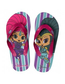 Papuci plaja flip-flops, Shimmer si Shine, 24-31