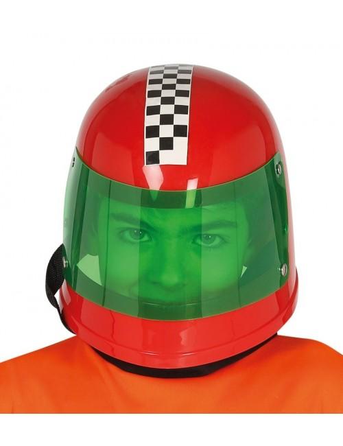 Casca Pilot Formula 1, rosie, pentru copii