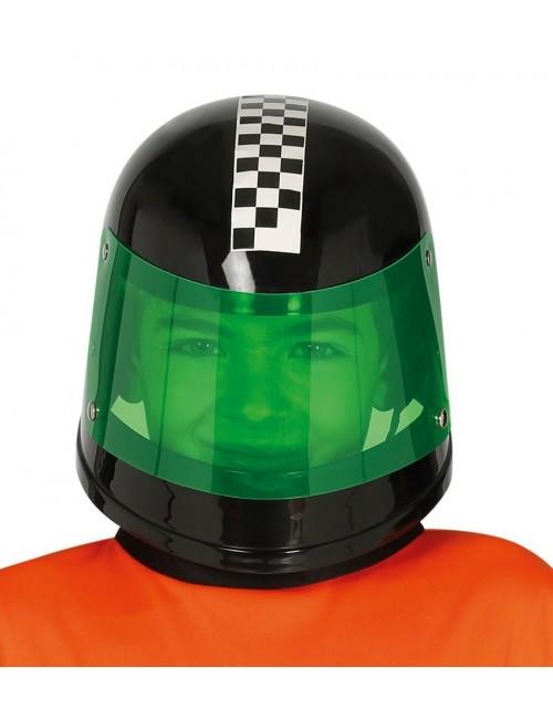 Casca Pilot Formula 1, neagra, pentru copii