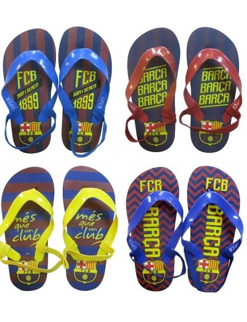 Papuci plaja copii, FC Barcelona, 22-27