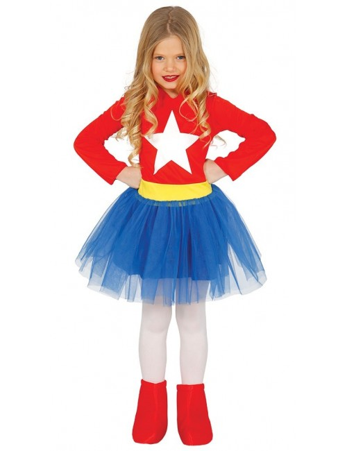 Costum carnaval fete, Super Star