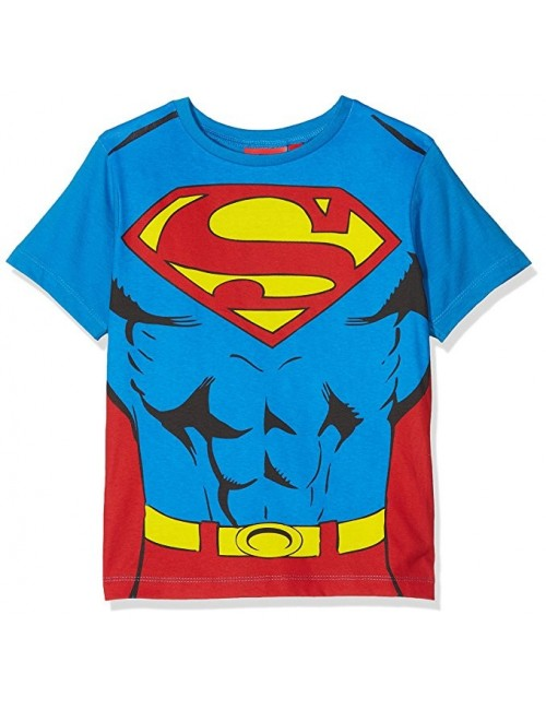 Tricou Superman, cu mantie, copii 3 - 8 ani