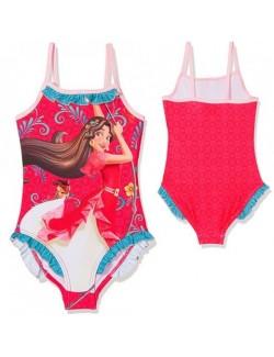 Costum baie, Elena din Avalor, roz, fete 3-6 ani