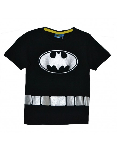 Tricou Batman copii, 3-8 ani, negru-auriu