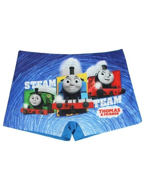 Slip boxeri copii, Locomotiva Thomas, albastru