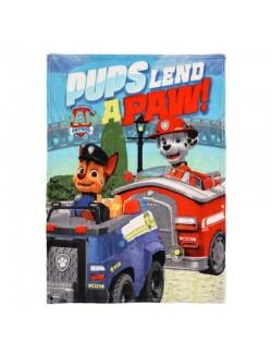 "Patura Paw patrol, coral fleece, ""Pups lend"", 90 x 120 cm"