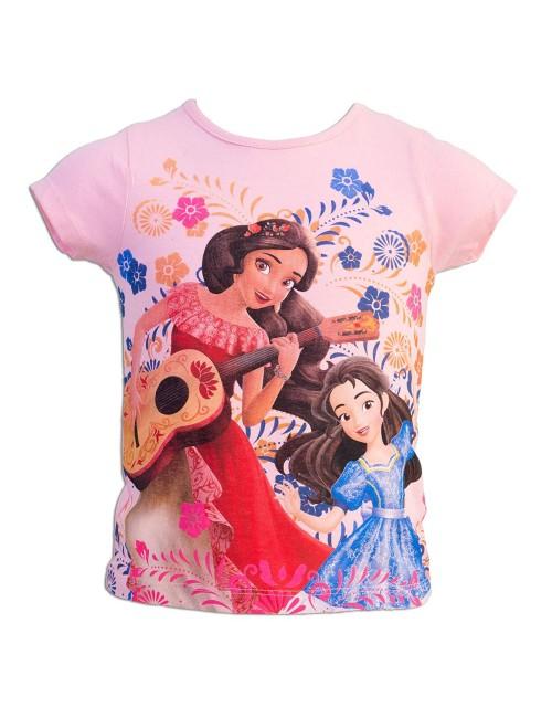Tricou Elena din Avalor, copii 3 - 6 ani, roz