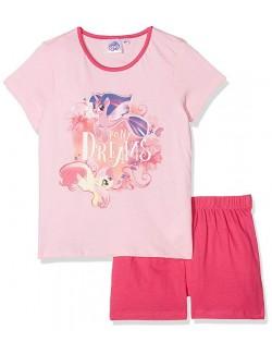 Pijama vara copii, My Little Pony, 3 - 8 ani, roz