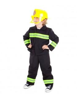 Costum Pompier, copii 3-7 ani