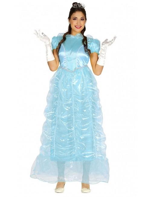 Rochie bleu Printesa, pentru femei