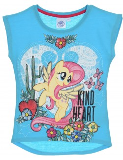 Tricou copii, bleu, My Little Pony, 3-8 ani