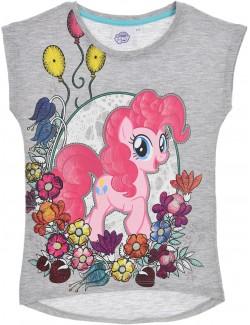 Tricou copii, gri, My Little Pony, Pinkie Pie, 3-8 ani