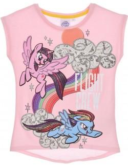 Tricou copii, My Little Pony, roz, 3-8 ani