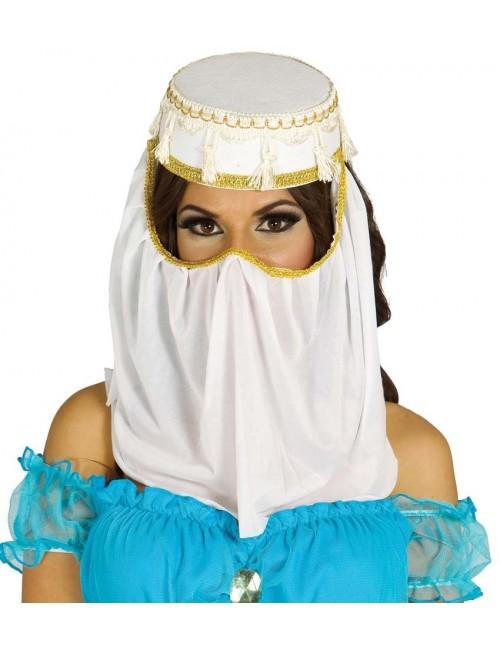 Palarie cu voal Printesa araba