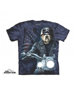 Tricou The Mountain adulti: Biker Sam