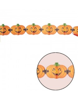 Ghirlanda Halloween, Dovleac haios, 15 x 400 cm