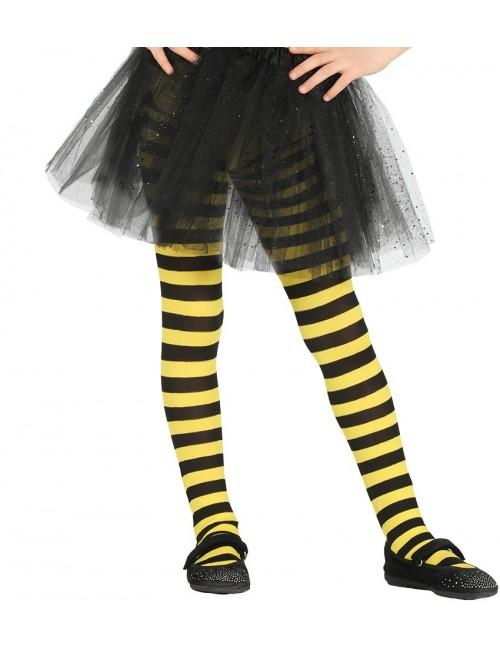 Dres Albinuta, galben - negru, pentru copii 7-10 ani